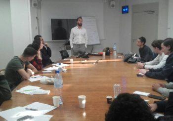 Séminaire adaptée à l'entrepreneuriat avec l'Ecole de la deuxième chance
